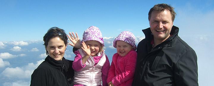 Familienausflug auf den Pilatus (2010)
